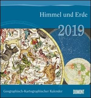 Himmel und Erde Geographisch-Kartographischer Kalender 2019