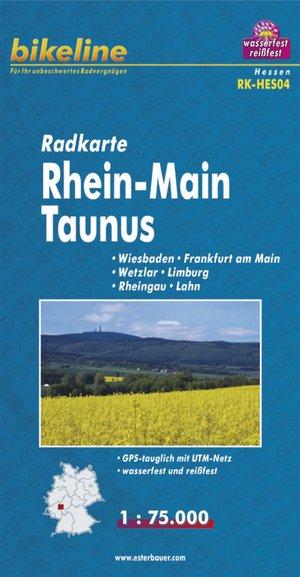 Rhein-main/taunus Cycle Map Gps