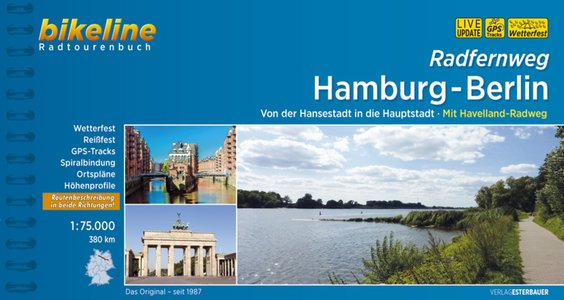Hamburg-berlin Radfernweg Hansestadt In Die Hauptstadt