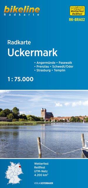 Uckermark/schorfheide/ruppiner Land Cycle Map Gps