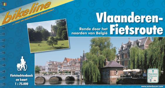 Vlaanderen Fietsroute Ronde Door Het Noorden Van Belgie