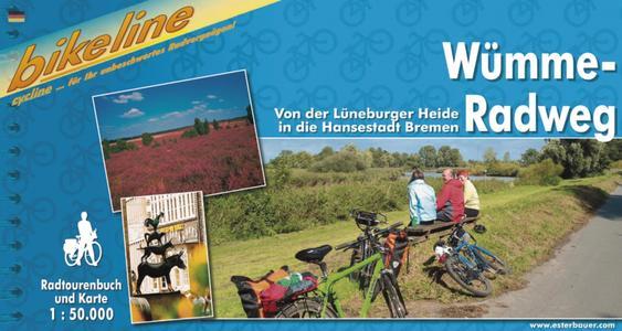 Umme-radweg Von Der Luneburger Heide In Die Hansestadt Bremen