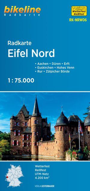 Eifel Nord Cycle Map Aachen - Koln