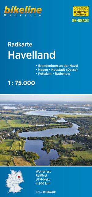 Havelland Cycle Map
