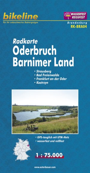 Oderbruch / Barnimer Land Cycle Map