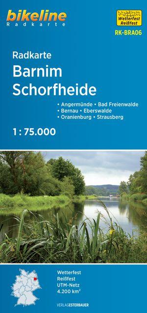 Barnim / Schorfheide Land Cycle Map
