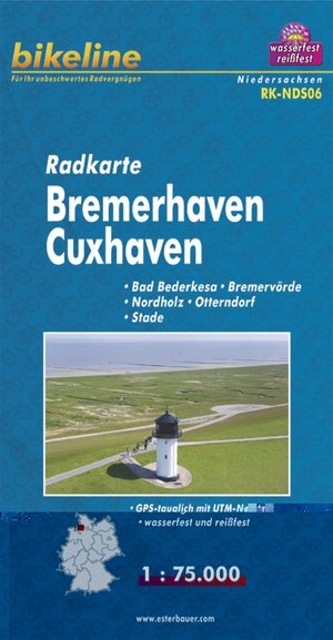 Bremerhaven / Cuxhaven Cycle Map