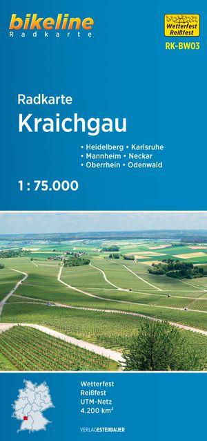 Kraichgau Cycle Map