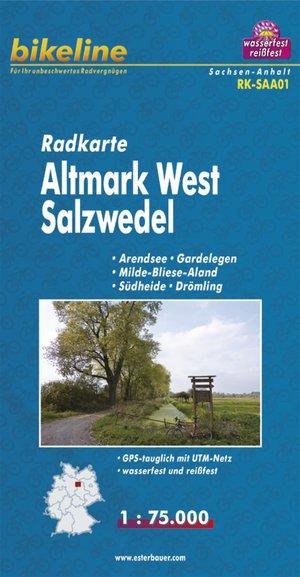 Altmark West Salzwedel Cycle Map