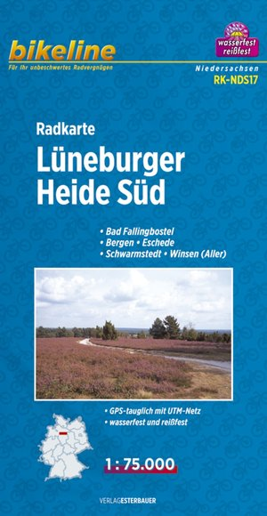 Lueneburger Heide South Cycle Map
