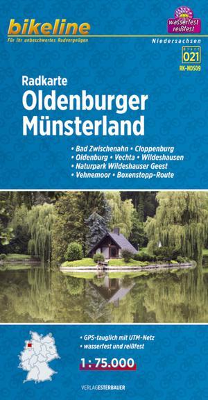 Oldenburger Münsterland fietskaart