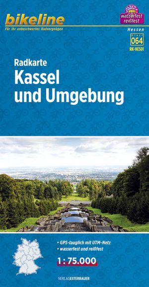 Kassel & omgeving fietskaart