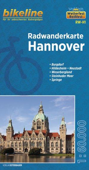Hannover fietstourkaart
