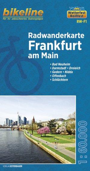Frankfurt am Main fietstourkaart