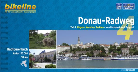 Donau - Radweg 4 Budapest - Belgrad