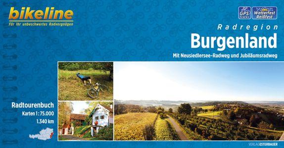 Burgenland Mit Neusiedlersee-Radweg und Jubiläumsradweg GPS