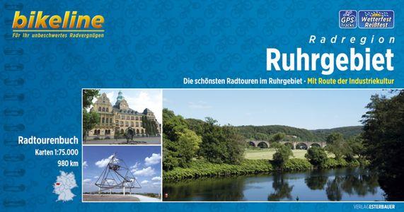 Ruhrgebiet Radatlas mit Route der Industriekultur