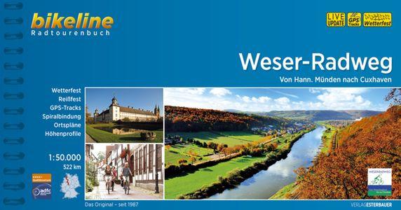 Weser - Radweg Von Hann. Münden nach Cuxhaven