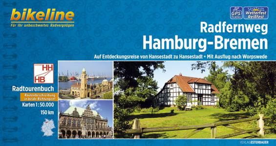 Hamburg - Bremen Radfernweg  GPS