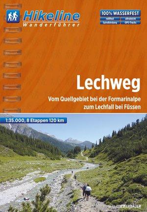 Lechweg vom Quellgebiet bei der Formarinalpe zum Lechfall bei Füssen