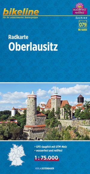 Oberlausitz fietskaart