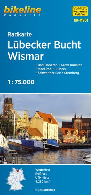 Lübecker Bucht / Wismar fietskaart