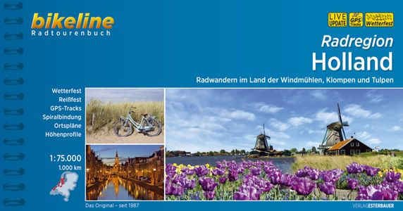 Holland Radatlas Mit Runde Ums Ijsselmeer