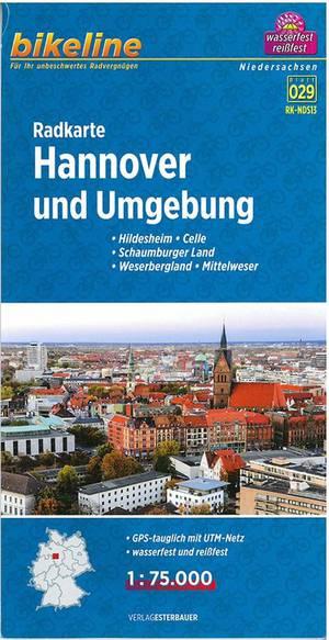 Hannover & omgeving fietskaart