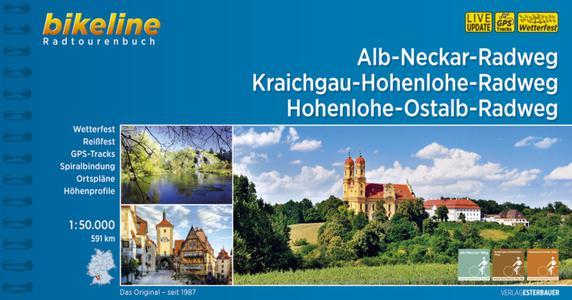 Alb-Neckar / Kraichgau-Hohenlohe / Hohenlohe-Ostalb-weg