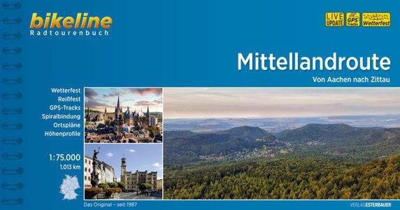 Mittellandroute von Aachen nach Zittau