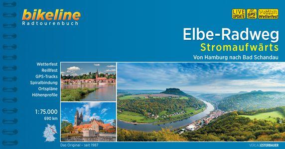 Elbe Radweg Stromaufwärts