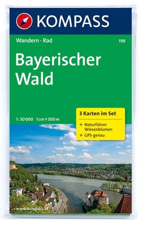 Kompass WK198 Bayerische Wald
