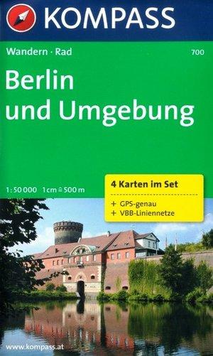 Kompass WK700 Berlijn / Berlin und Umgebung
