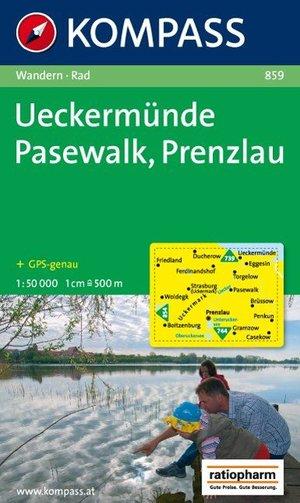 Kompass WK859 Ückermünde, Pasewalk, Prenzlau