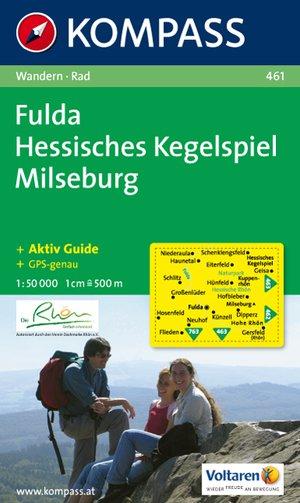 Kompass WK461 Fulda, Hessisches Kegelspiel, Milseburg