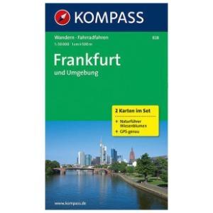 Kompass WK828 Frankfurt und Umgebung