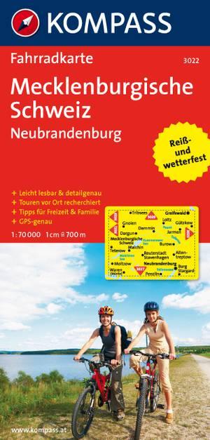 Kompass FK3022 Mecklenburgische Schweiz, Neubrandenburg
