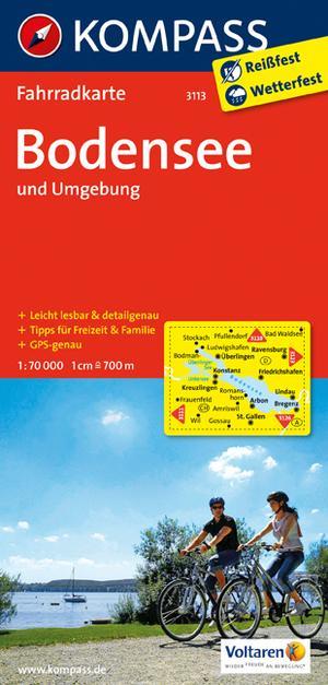 Kompass FK3113 Bodensee und Umgebung