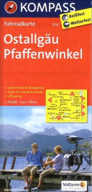 Kompass FK3124 Ostallgäu, Pfaffenwinkel