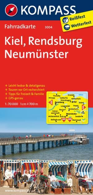 Kompass FK3004 Kiel, Rendsburg, Neumünster