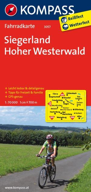 Kompass FK3057 Siegerland, Hoher Westerland