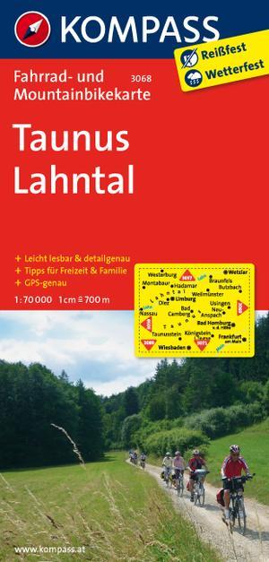 Kompass FK3068 Taunus, Lahntal