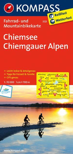 Kompass FK3121 Chiemsee, Chiemgauer Alpen