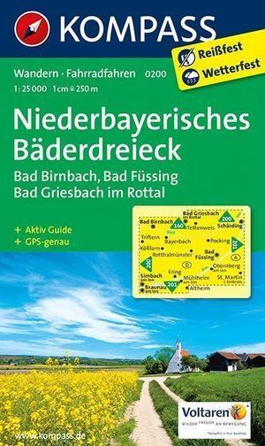 Kompass WK0200 Niederbayern, Bäderdreieck