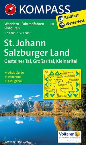 Kompass WK80 St.Johann, Salzburger Land