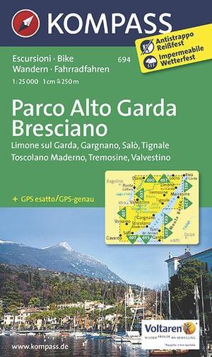 Kompass WK694 Parco Alto Garda Bresciano