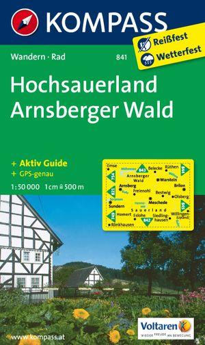 Kompass WK841 Hochsauerland, Arnsberger Wald