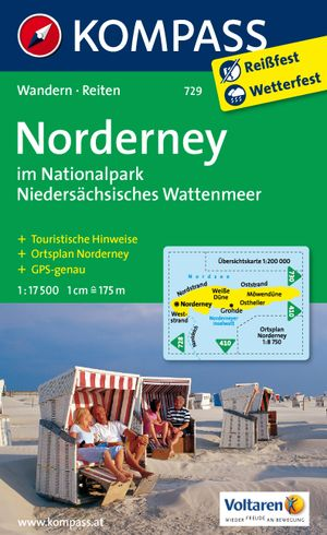 Kompass WK729 Insel Norderney