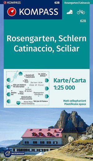 Kompass WK628 Rosengarten, Schlern