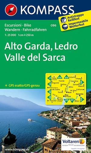 Kompass WK096 Alto Garda, Val di Ledro